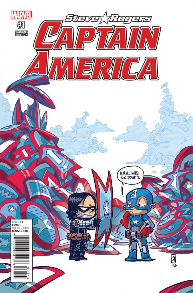 Captain America Steve Rogers variant