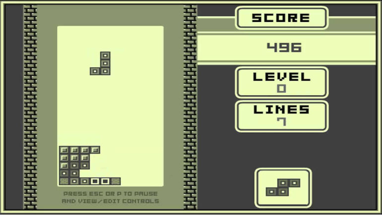 Game Hall of Fame - Tetris In Game