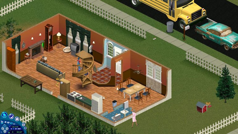 Game Hall of Fame - The Sims In Game