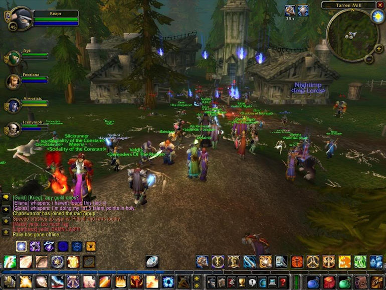 Game Hall of Fame - WoW In Game