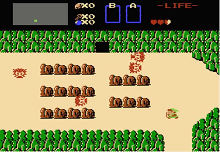 Game Hall of Fame - Zelda In Game