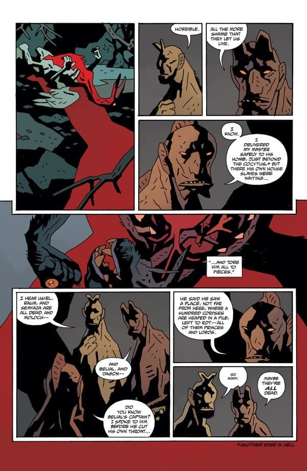 Hellboy In Hell #9 The Spanish Bride review