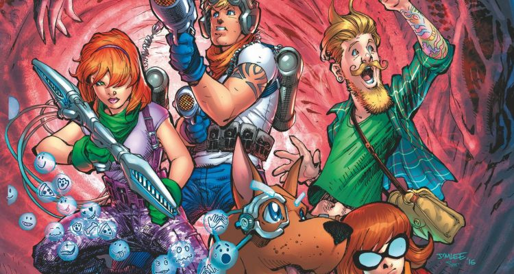 Review Scooby Apocalypse #1 - comic book review