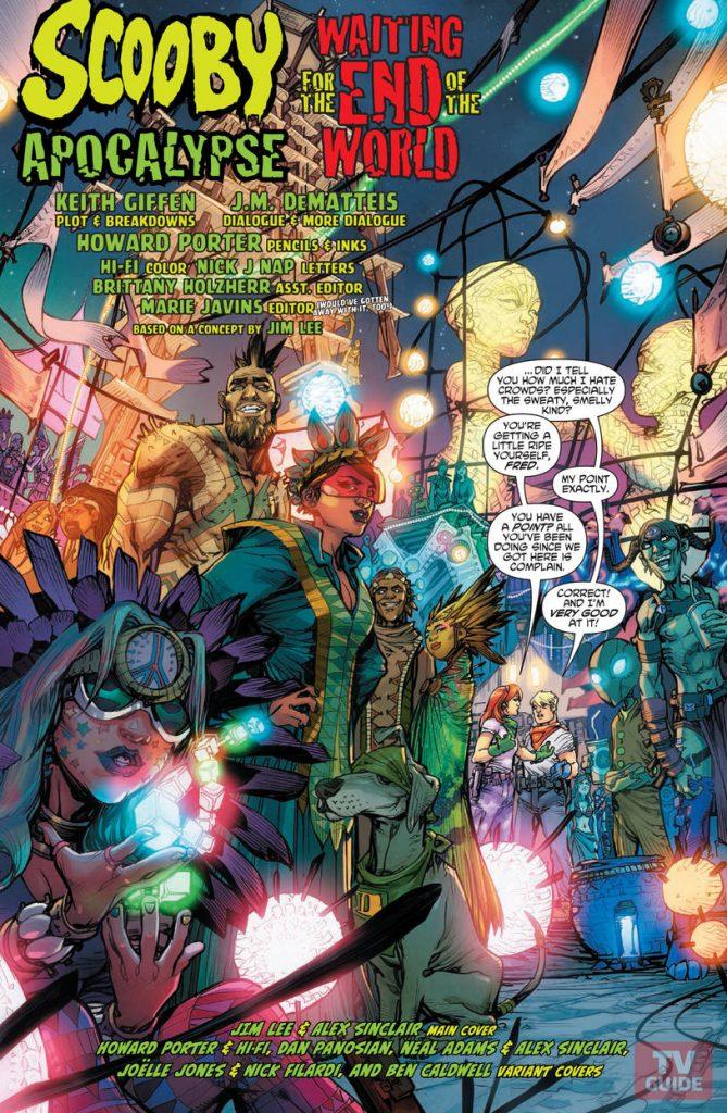Scooby Apocalypse #1 - comic book review
