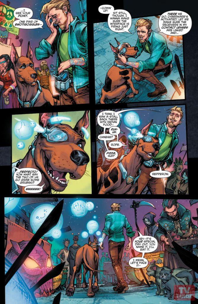 Scooby Apocalypse #1 scooby doo comic DC Comic