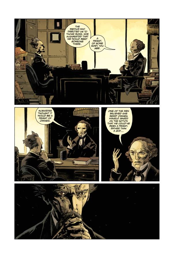 abe sapien #33 comic book review