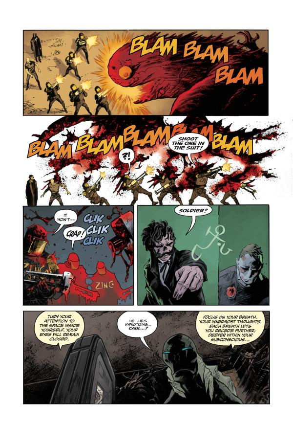 abe sapien #33 comic review