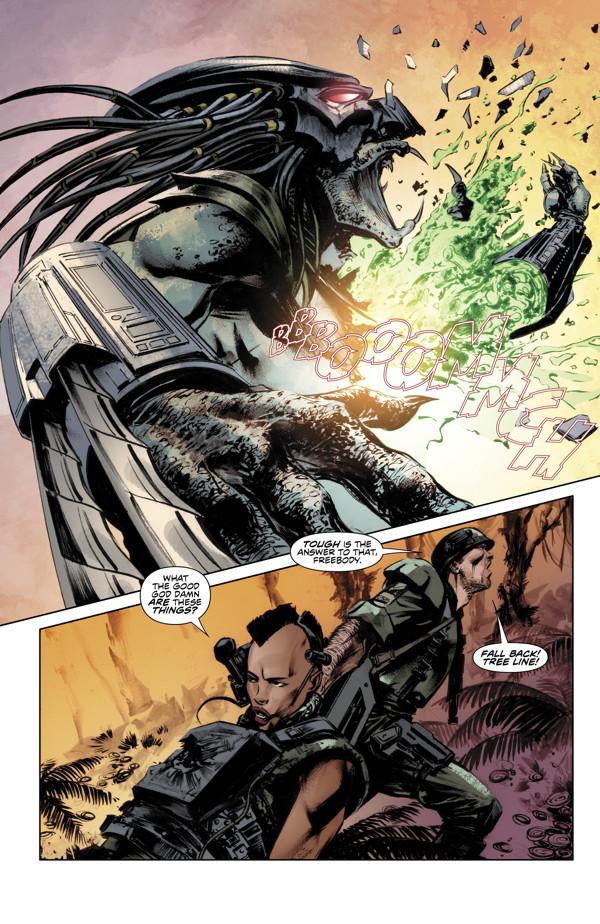 Predator: Life and Death #3 comics