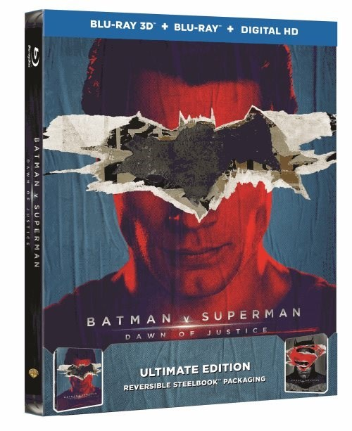 Batman v Superman Ultimate Cut Blu-ray Art And Special Features Revealed superman