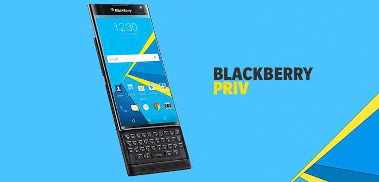 BlackBerry PRIV-Header