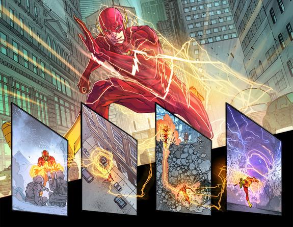 DC Rebirth Flash