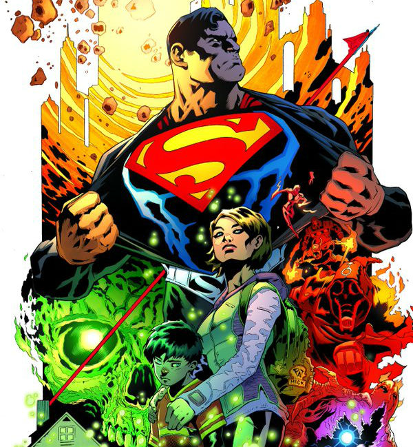 DC Rebirth superman
