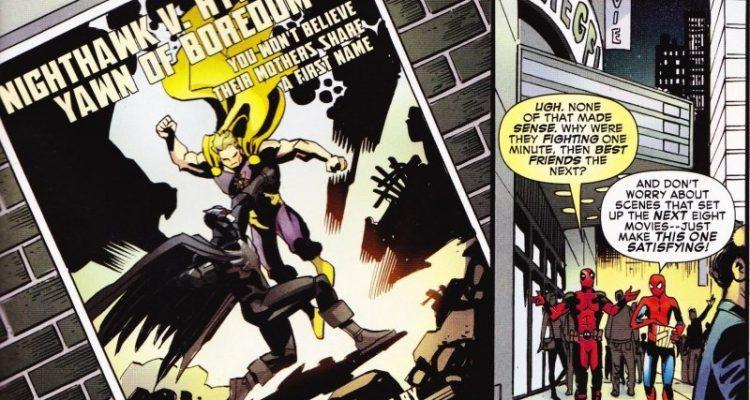 Deadpool & Spider-Man Take A Shot At Batman V Superman