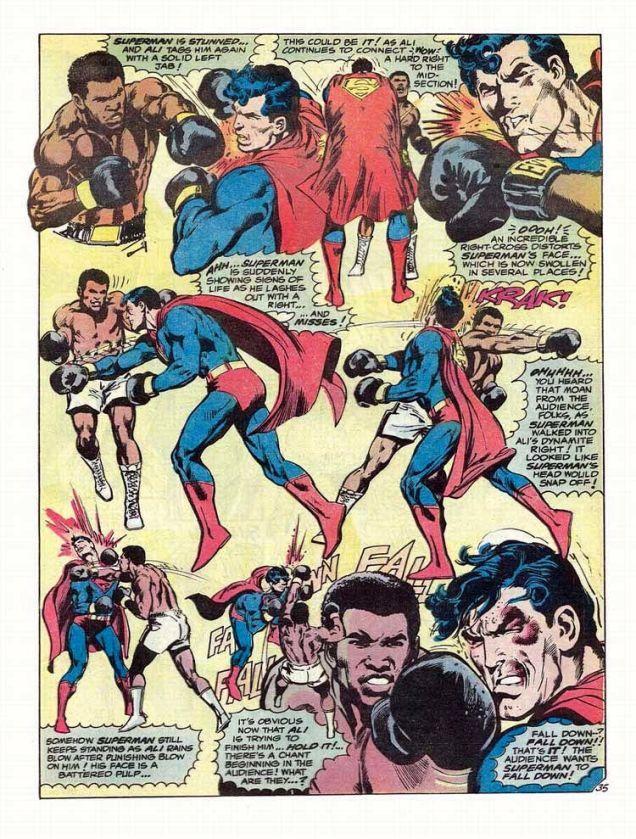 Muhammad Ali Fought Superman