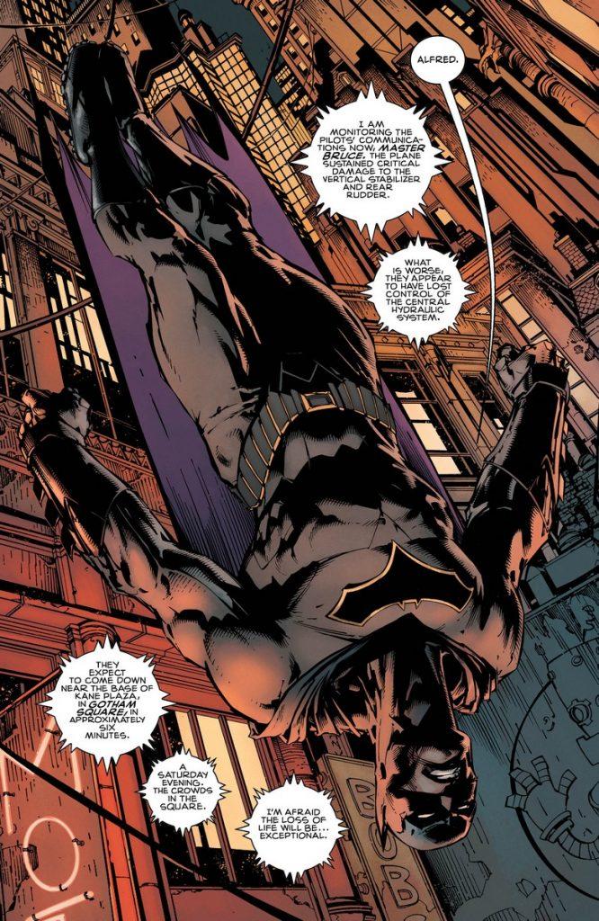 Rebirth batman #1 review