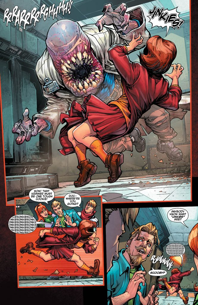 Scooby Apocalypse #2 comic review