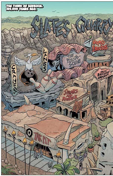 The Flintstones #1 preview 01