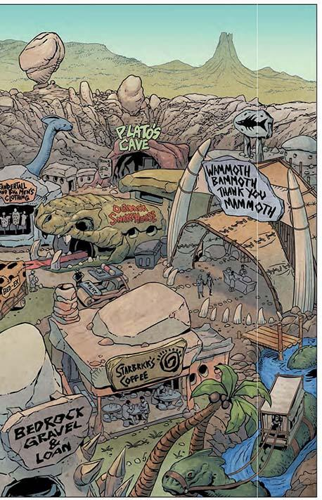 The Flintstones #1 preview 02