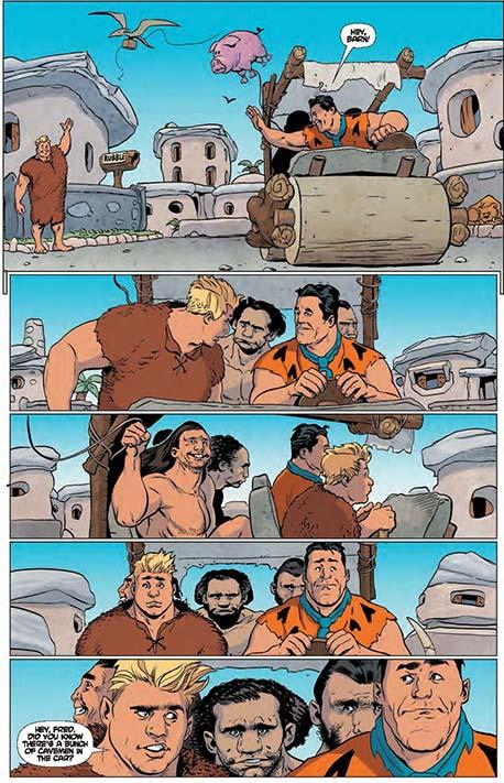 The Flintstones #1 preview 03