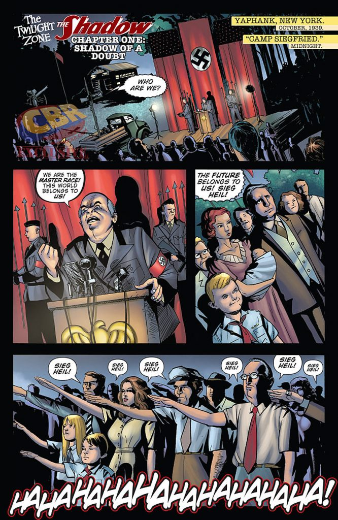 The Shadow Twilight Zone #1 comic book review