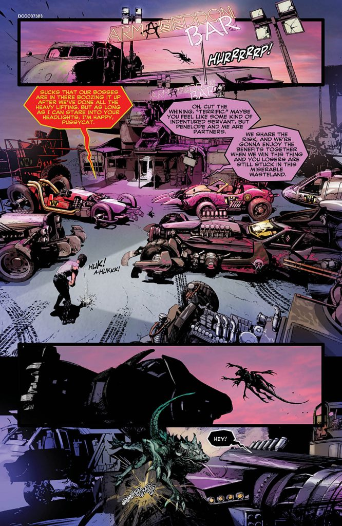 Wacky Raceland DC COmic book review