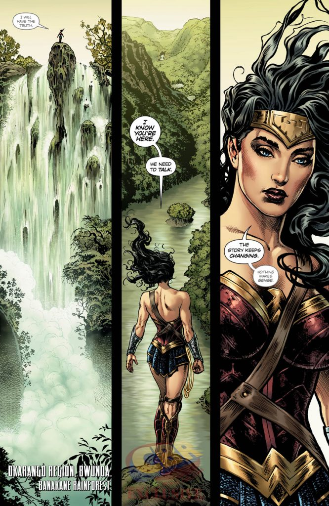 Wonder Woman #1 - THE LIES Chapter One