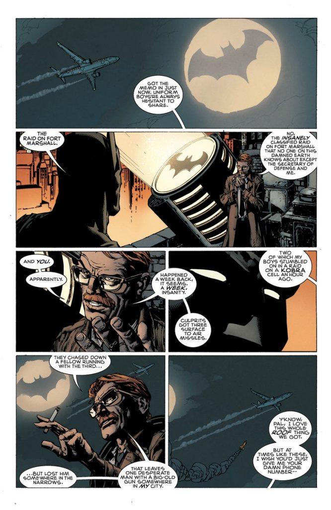 batman #1 comic book review