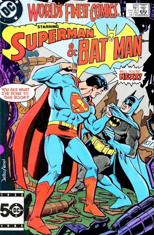 batman vs superman frenemies