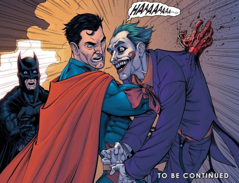batman vs superman kills joker