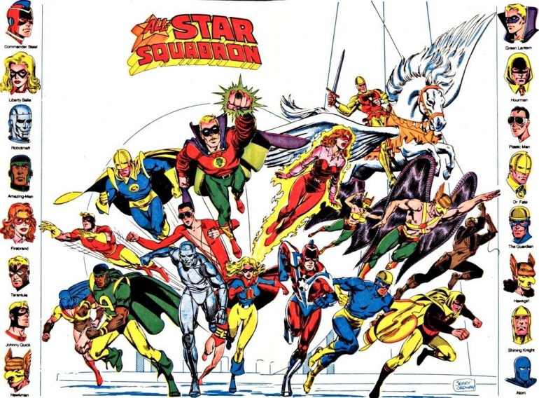 All-Star Squadron DC