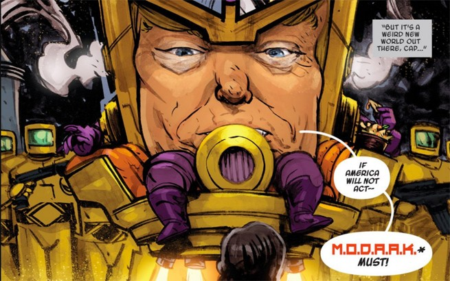 Donald Trump Is A Marvel Comic Book Supervillain