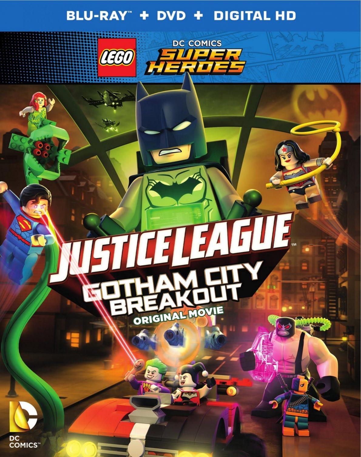 LEGO DC Comics Super Heroes: Justice League: Gotham City ...
