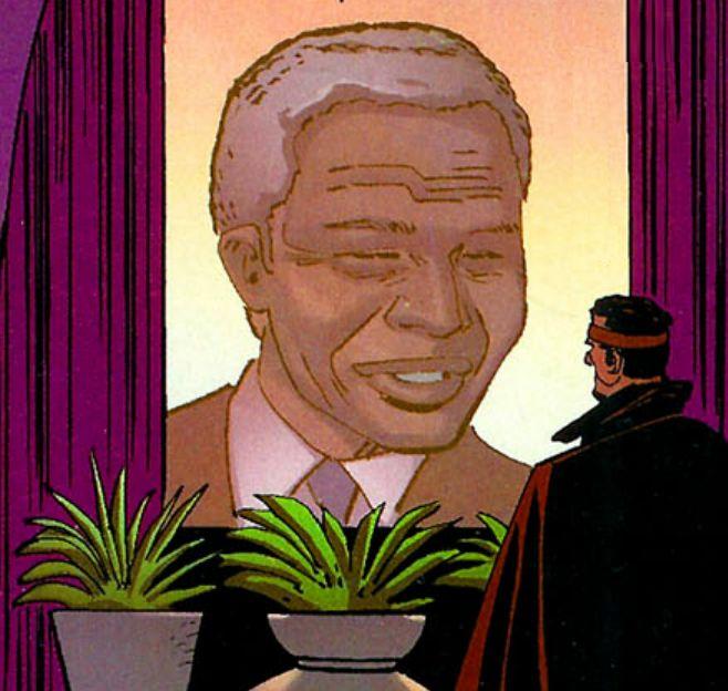 Mandela Marvel Comics
