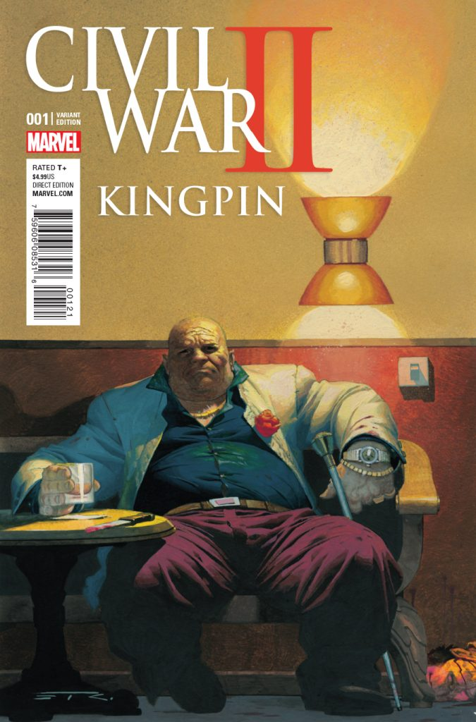 CIVIL WAR II KINGPIN #1 comic book review