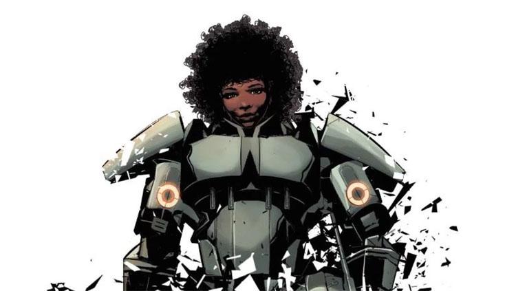 Riri Williams iron man