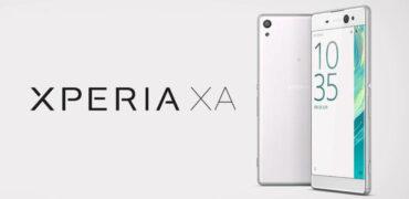 Sony Xperia XA-Header