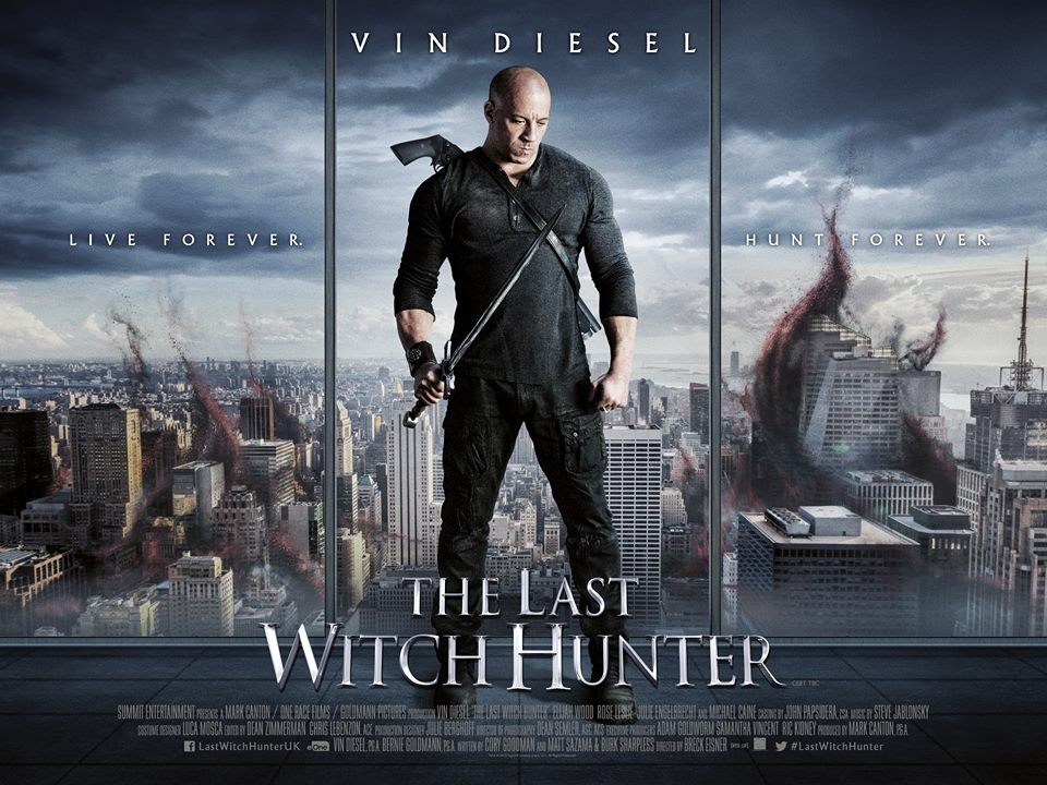 The Last Witch Hunter Vin Diesel Movie Review