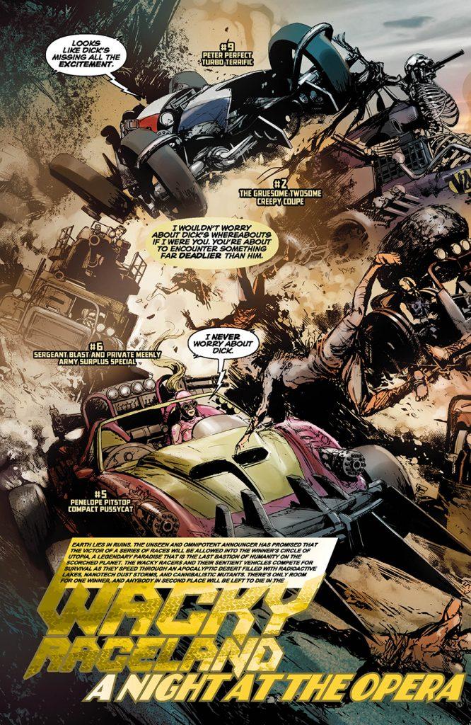 Wacky Raceland #2 - comic review