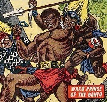Waku prince of the bantu