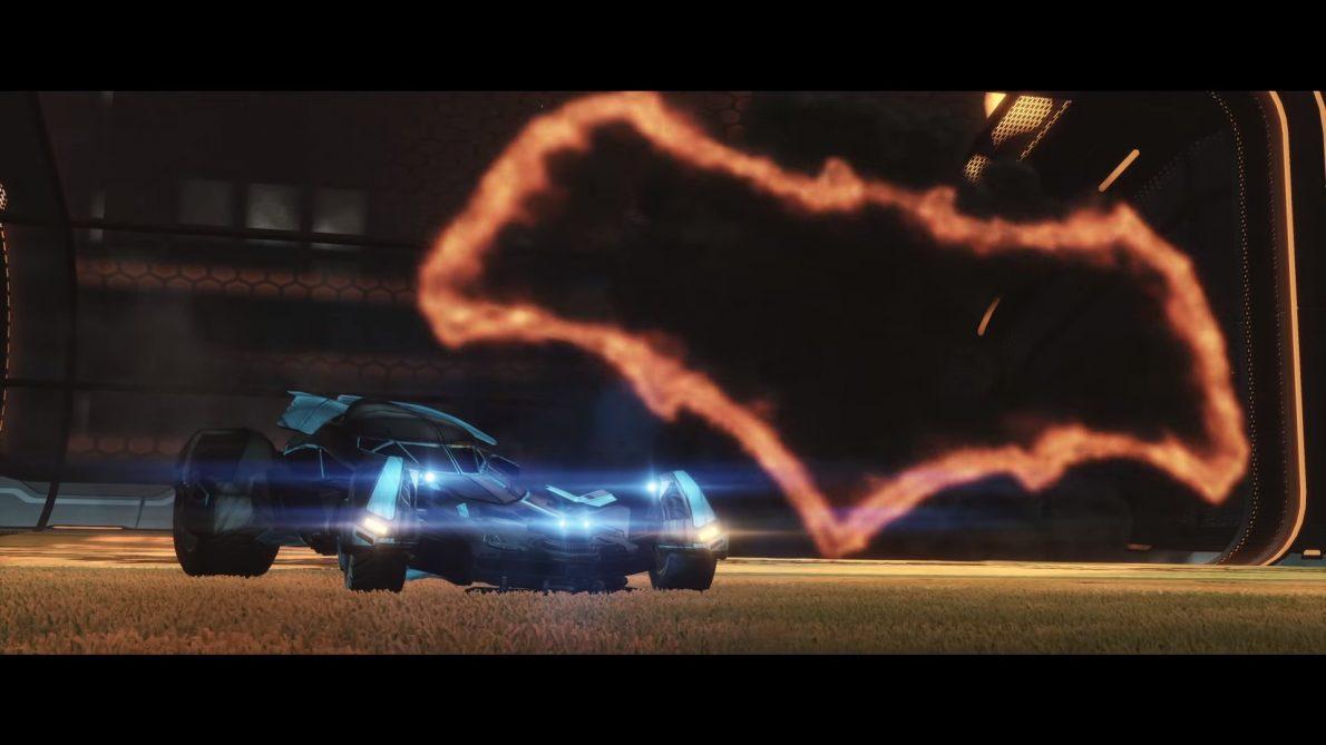 batmobile rocket league