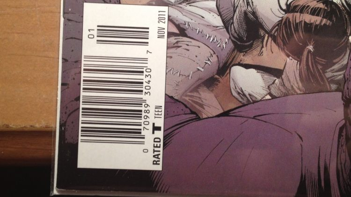comic book barcodes