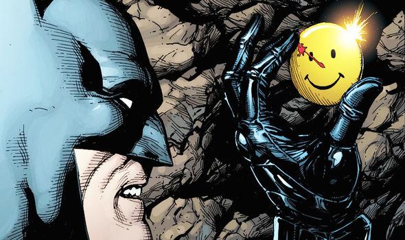Batman Watchmen symbol