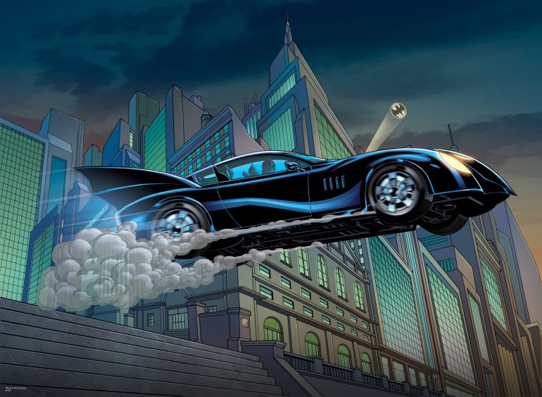 Batman comic books batmobile