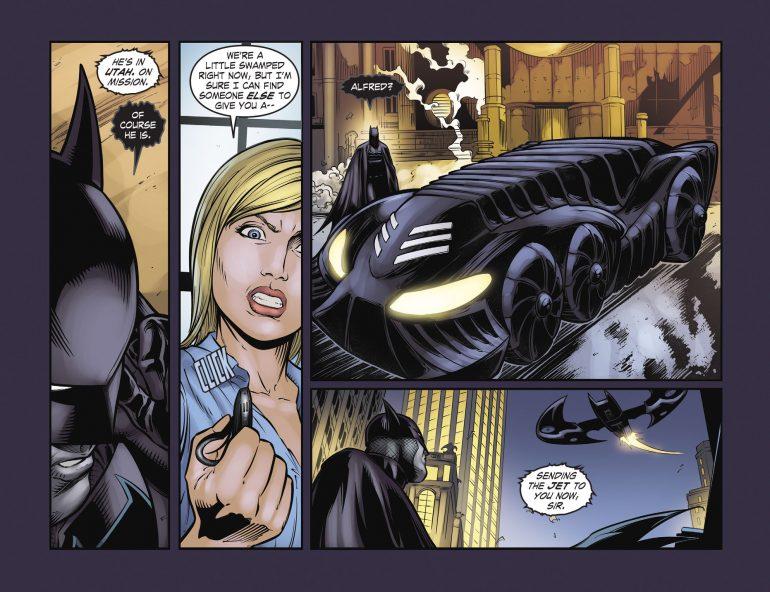 Batman's Batmobile Comic Book