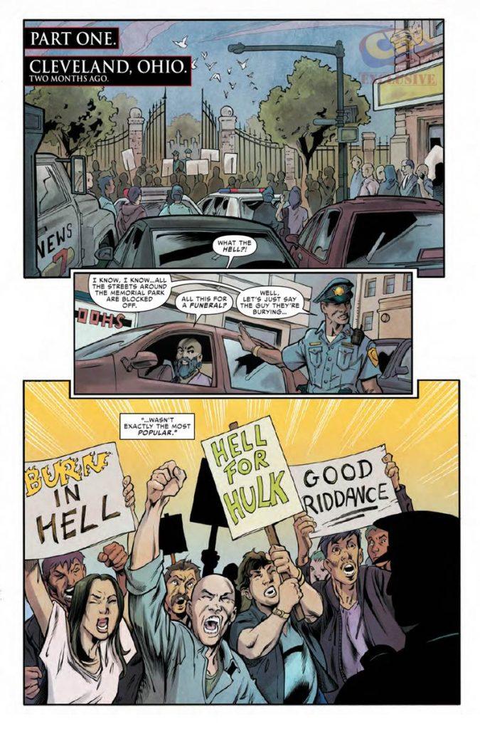 Civil War II – The Fallen #1 - Comic Book Review