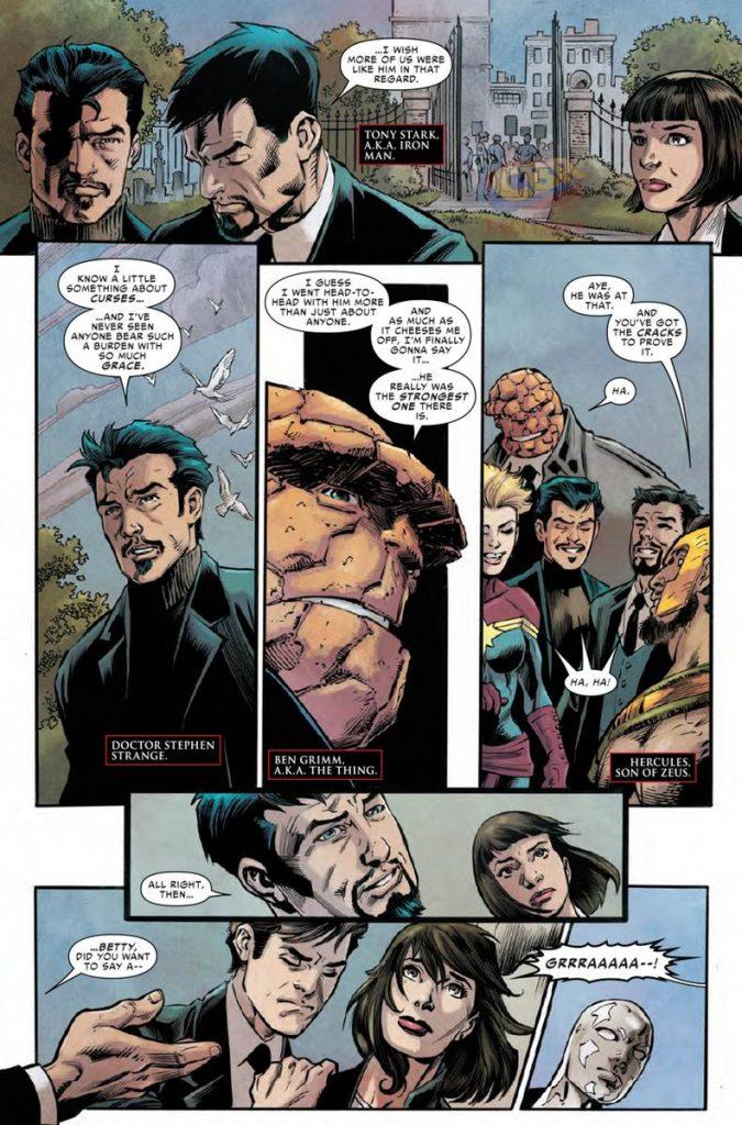 Civil War II – The Fallen #1 - Comic Review