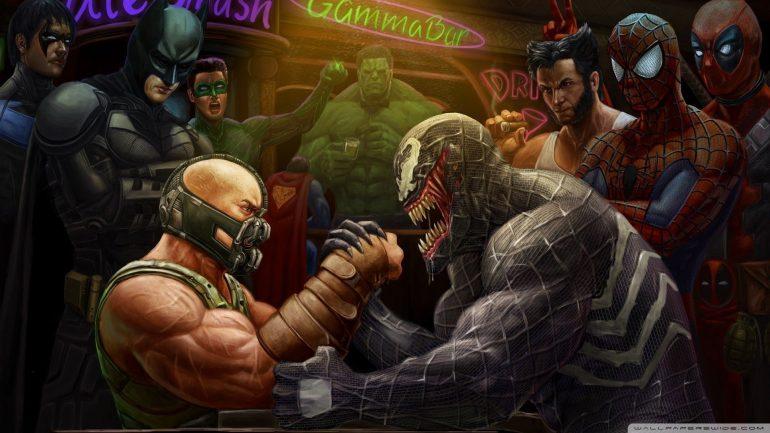 DC vs marvel movies