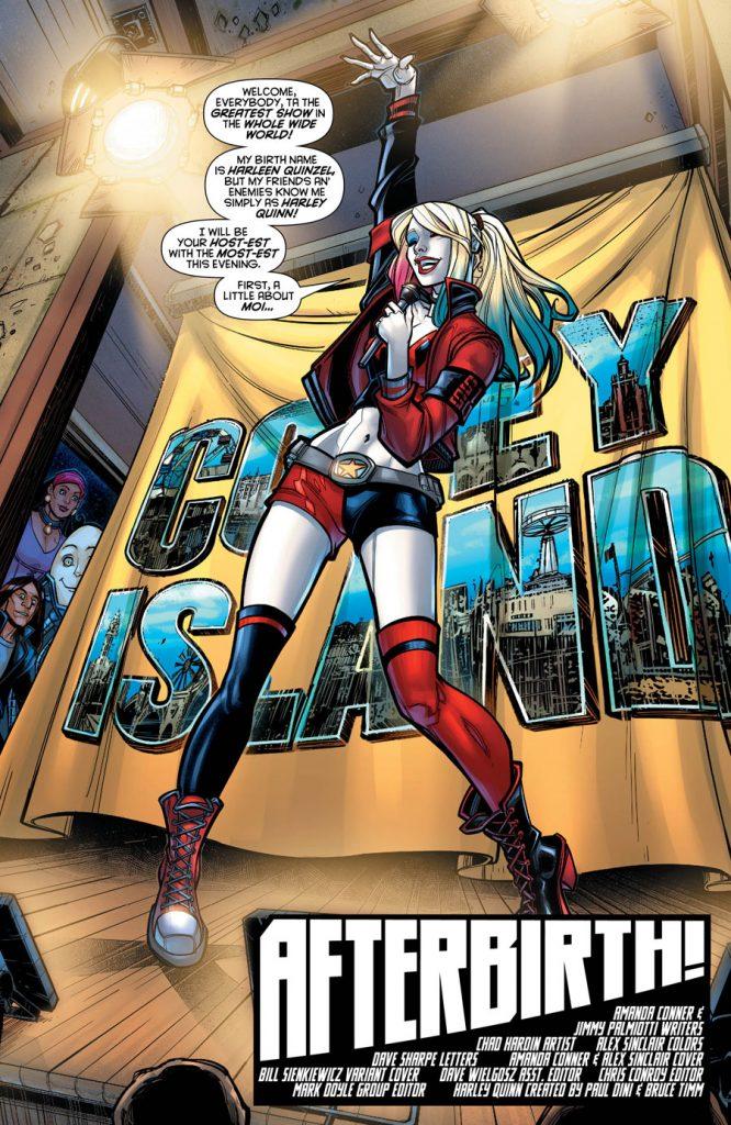 Harley Quinn #1 - comic book review