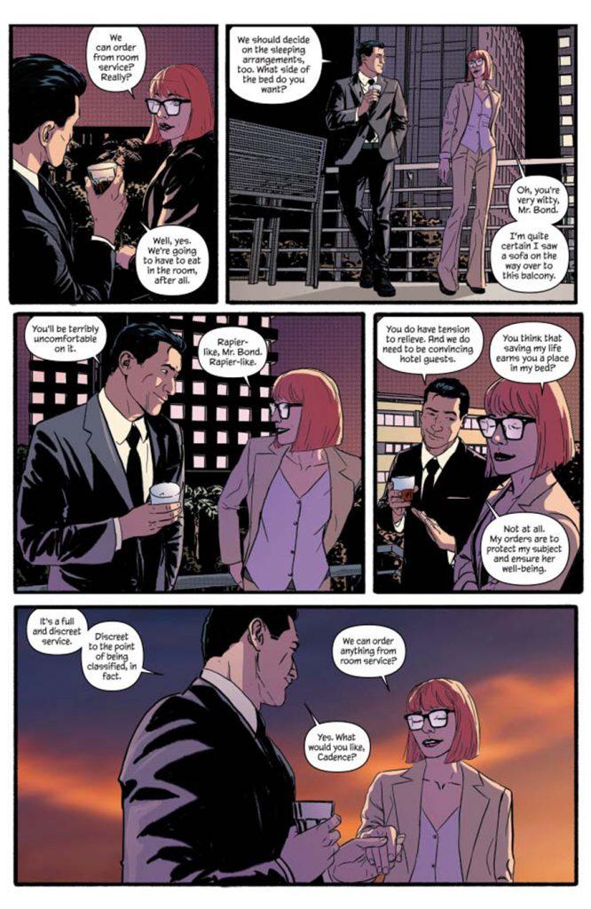 James Bond #8: Eidolon Part 2 - Comic Book Review