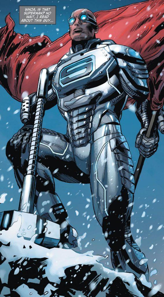 John Henry Superman Steel
